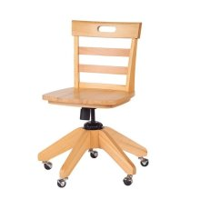 School Chair : Natural :