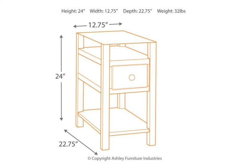 13faf35815c4fb T217533 in by Ashley Furniture in Orange, CA - Chair Side End Table