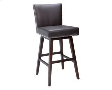 Vintage Swivel Barstool - Brown