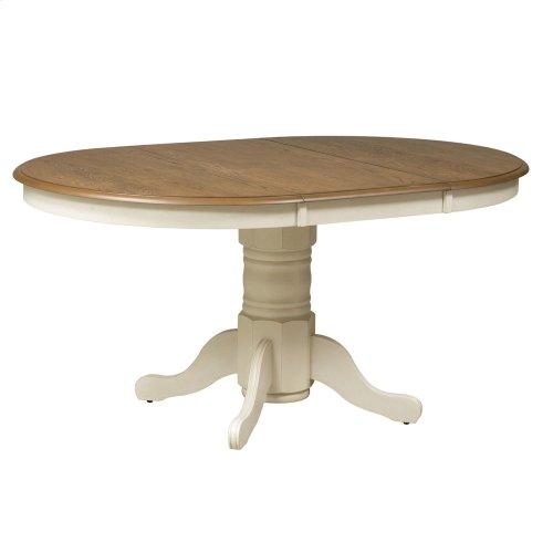 7 Piece Pedestal Table Set