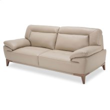 Turano Leather Match Sofa