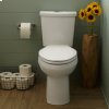Linen H2option Dual Flush Right Height Elongated 0.92/1.28 Gpf Toilet - Lined Tank