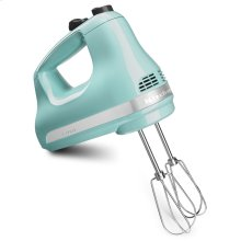 5-Speed Ultra Power Hand Mixer - Aqua Sky