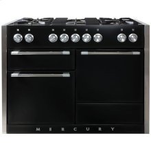 Gloss Black AGA Mercury Dual Fuel Range  AGA Ranges