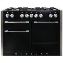 Gloss Black AGA Mercury Dual Fuel Range  AGA Ranges