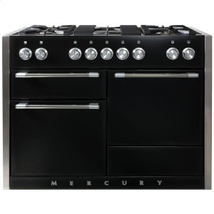 Gloss Black AGA Mercury Dual Fuel Range  AGA Ranges - GLOSS BLACK