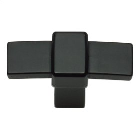 Buckle Up Knob 1 13/16 Inch - Matte Black