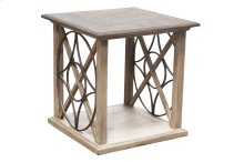 Lamp Table, , Available in Old World Finish Only.