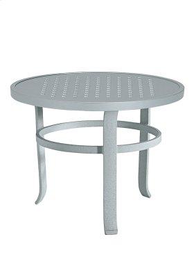 "Boulevard 24"" Round Tea Table"