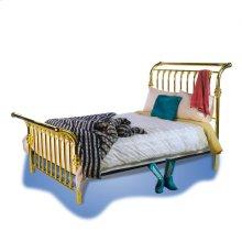 Brass Sleigh Bed - #128