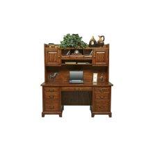"66"" Flat Top Desk $ 999.00 and 63"" Hutch $ 549.00"
