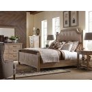 Complete Upholstered Low Post Bed Product Image