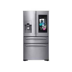 Samsung Appliances22 cu. ft. Family Hub Counter Depth 4-Door French Door Refrigerator in Stainless Steel