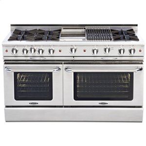 "CapitalCulinarian 60"" Gas Self Clean Range"