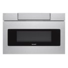 24 in. 1.2 cu. ft. 950W Sharp Stainless Steel Microwave Drawer Oven Product Image