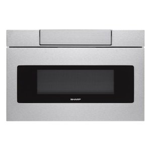 SHARP24 in. 1.2 cu. ft. 950W Sharp Stainless Steel Microwave Drawer Oven (SMD2470AS)