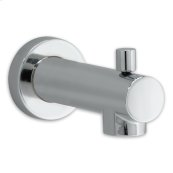 Serin Slip-On Diverter Tub Spout - Polished Chrome