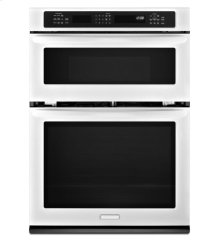 27-Inch Convection Combination Microwave Wall Oven, Architect® Series II - White