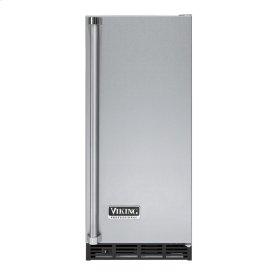 """Stainless Steel 15"""" Undercounter/Freestanding Tall Door Ice Machine - VUIM (Right Hinge Door)"""