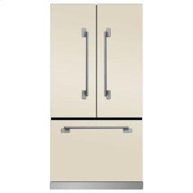 Ivory Elise French Door Counter Depth Refrigerator