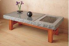 Slab Table/bench Indoor / Blue Gray Granite