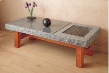 Slab Table/bench Indoor / Blue Gray Granite
