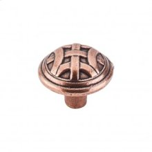 Celtic Large Knob 1 1/4 Inch - Old English Copper