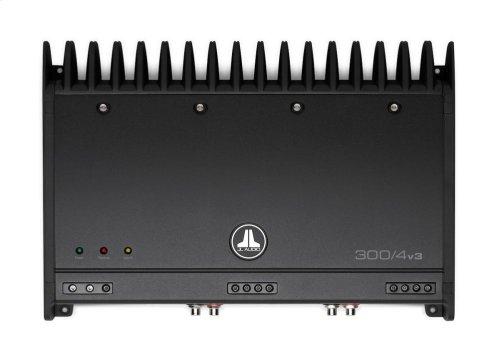 4 Ch. Class A/B Full-Range Amplifier, 300 W