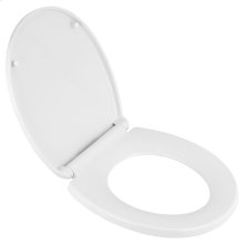 Transitional Round Front Luxury Toilet Seat  American Standard - White