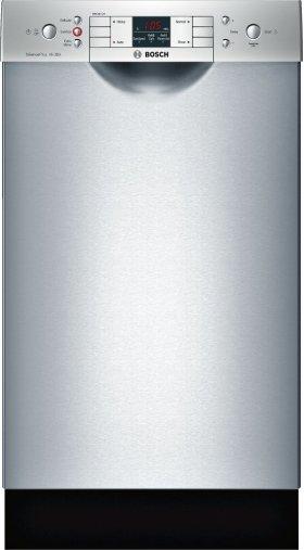 "ADA 18"" 300 Series Recessed Hndl, 4/4 Cycles, 46 dBA, RckMatic, 9 Pl Stgs - SS"