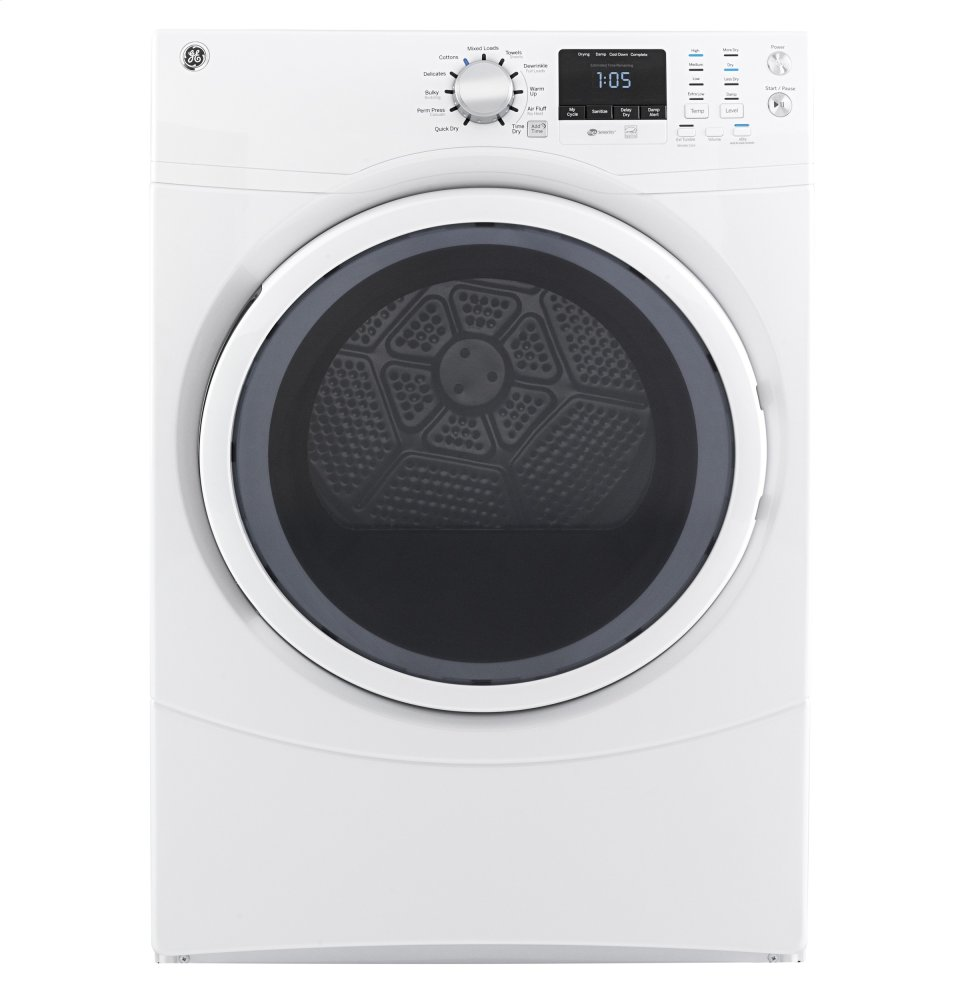GE(R) 7.5 cu. ft. Capacity Front Load Gas Dryer
