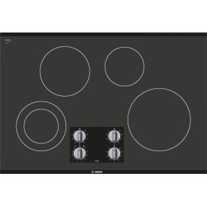 "BOSCH500 Series, 30"" Knob Cnt, 4 Element, Elec. C-Top Black"