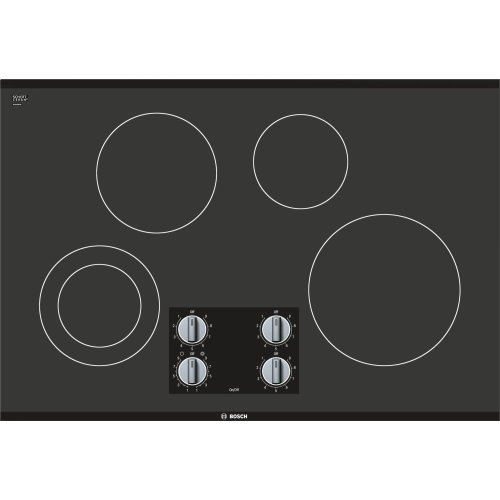 "500 Series, 30"" KNOB CNT, 4 ELEMENT, ELEC. C-TOP BLACK"