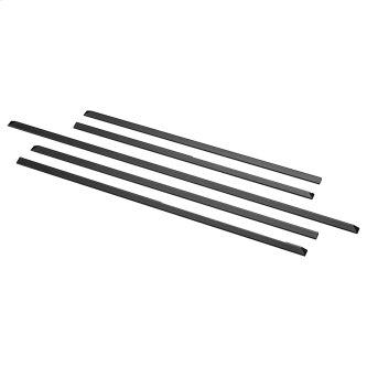 GE Slide-in Range Filler Kit Black - JXFILLR1DD