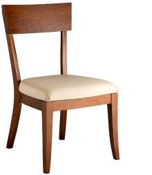 Bella Side Chair w/ Fabric Seat