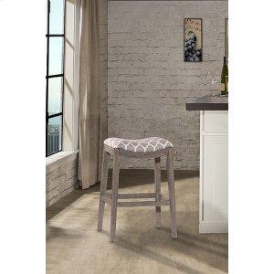 Hillsdale FurnitureSorella Non-swivel Backless Counter Stool - Full K/d Construction - Gray
