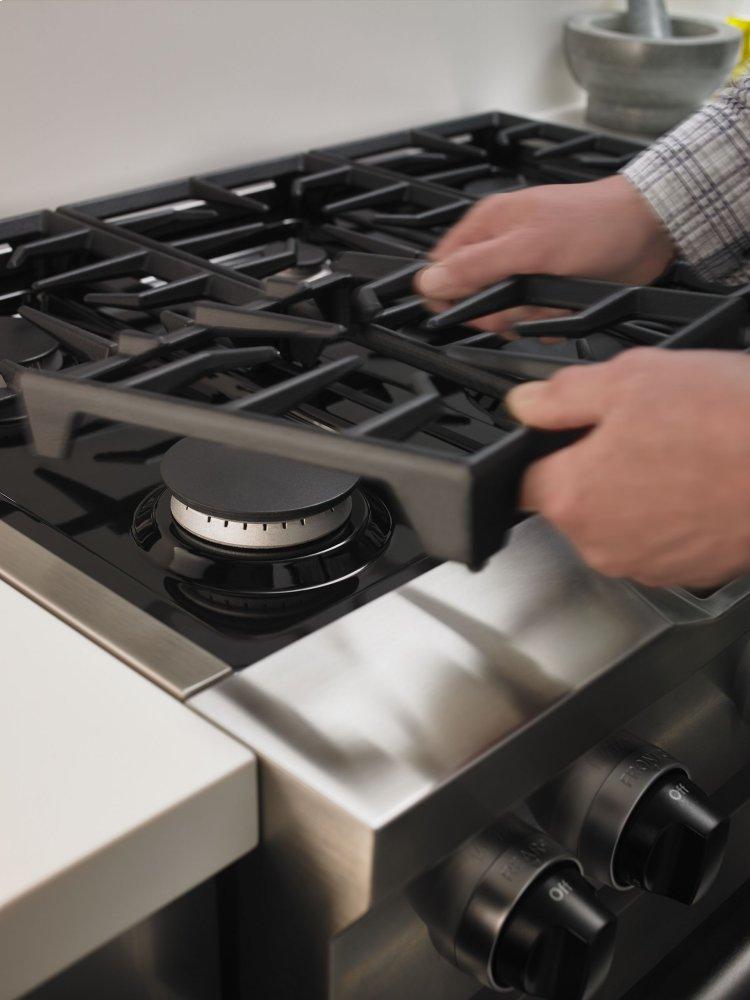 Beau Kitchenaid 36u0027u0027 6 Burner Dual Fuel Freestanding Range, Commercial Style    Stainless Steel