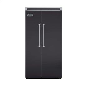 "Graphite Gray 42"" Side-by-Side Refrigerator/Freezer - VISB (Integrated Installation)"
