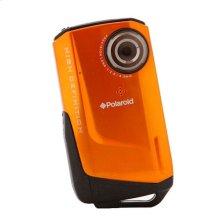 Polaroid Waterproof 720p High Definition Pocket Digital Video Camcorder iD642, Orange
