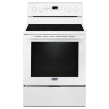 Maytag® 30-Inch Wide Electric Range With True Convection And Power Preheat - 6.4 Cu. Ft. - White
