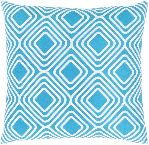 "Miranda MRA-010 22"" x 22"" Pillow Shell with Polyester Insert"