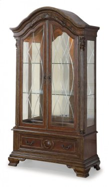 Talavera China Cabinet