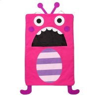 Pink Monster Laundry Bag. Product Image