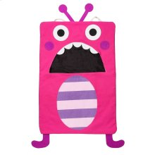 Pink Monster Laundry Bag.