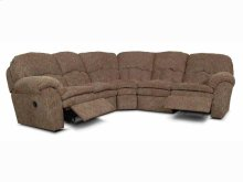 Oakland-Sect England Living Room Oakland Fabric Sectional 7200-Sect