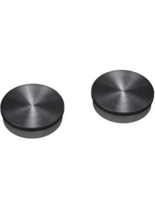 Black control knobs for EB 333, set of 2