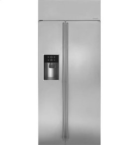 "36"" Built-In Side-By-Side Refrigerator with Dispenser"