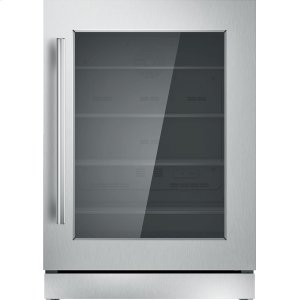 THERMADOR24 inch UNDER-COUNTER GLASS DOOR REFRIGERATION T24UR910RS
