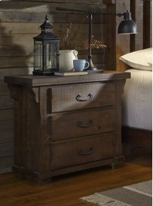 Nightstand - Tobacco Finish