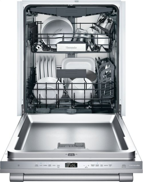 GREAT DEAL ON PREMIUM THERMADOR DISHWASHER MODEL DWHD660WFP / FULL 2 YEAR WARRANTY /24-Inch Professional Stainless Steel Topaz® - PRO HANDLE MODEL NOT ACCEPTED BY CUSTOMER BECAUSE HANDLE DID NOT MATCH OTHER APPLIANCES IN KITCHEN - BRAND NEW!!!